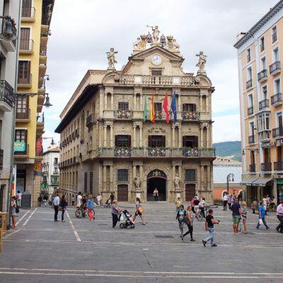 Plaza Felisa Una vida privilegiada en Pamplona