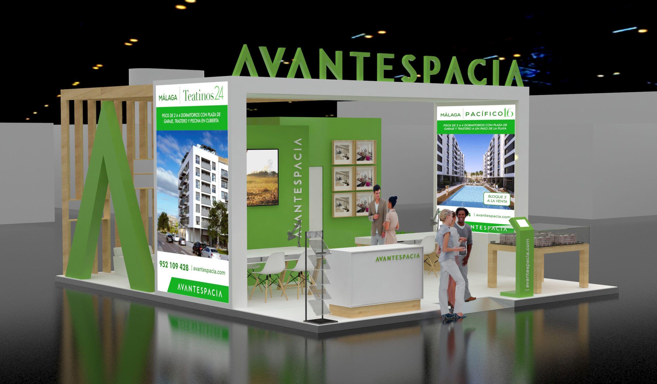 Avantespacia presente en el Salón Inmobiliario del Mediterráneo