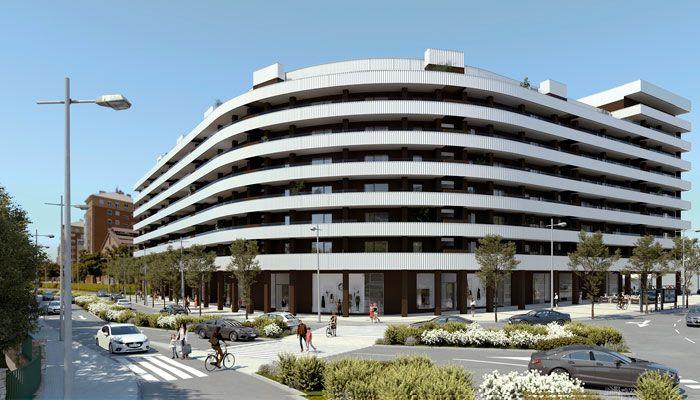 Avantespacia comercializa el mayor proyecto de viviendas con criterios Passivhaus en Pamplona