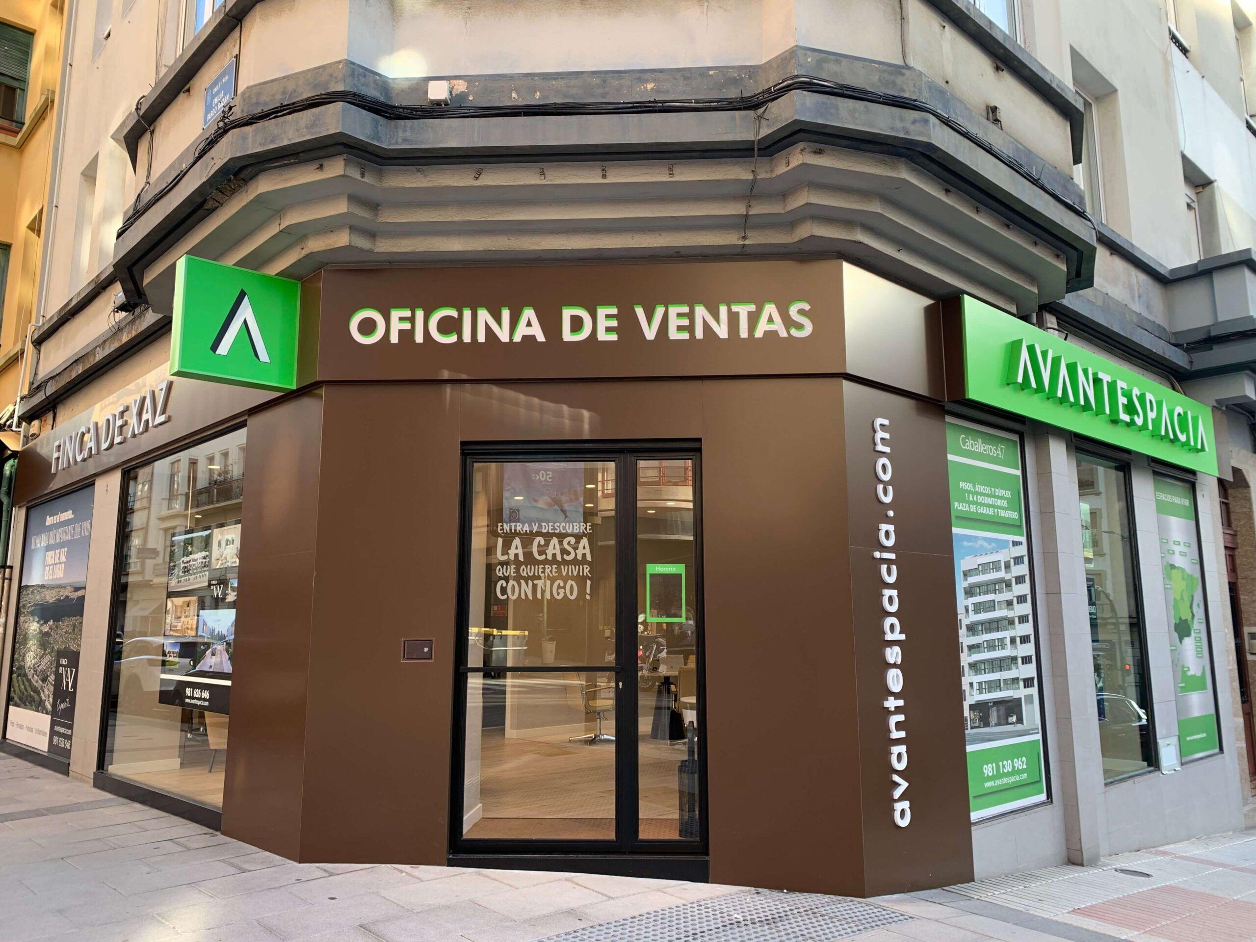 Avantespacia abre una nueva oficina en el centro de A Coruña